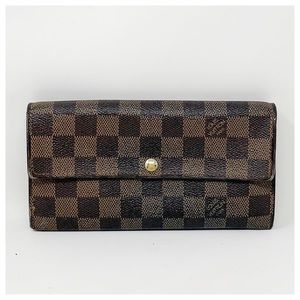 Authentic Louis Vuitton Darmier Ebene Wallet
